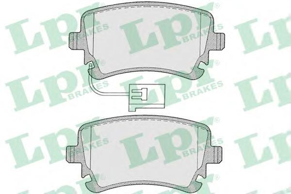 Комплект тормозных колодок 05P1206