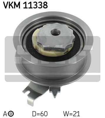 Ролик натяжителя SKF VKM11338 A3/SEAT/SKODA/GOLF/PASSAT 1.0/1.2/1.4 TFSI