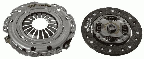 К-т сцепления OP Astra G, Vectra B 1.6 95-