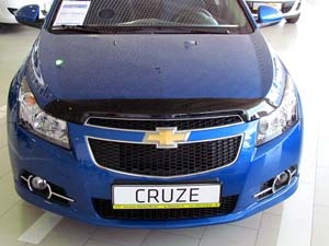 Дефлектор капота темный CHEVROLET CRUZE 2009- Sedan, NLD.SCHCRU0912