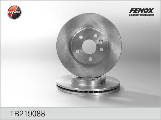 Диск тормозной передний Chevrolet Aveo, Cruze, Opel TB219088
