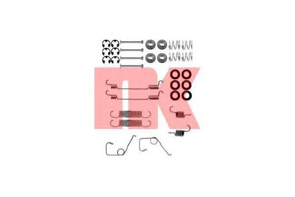 Монтажный комплект задних барабанных колодок / FORD Transit 80-120 91 - 94