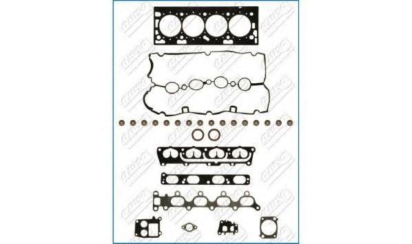Комплект прокладок OPEL: ASTRA H 1.6 04- (верхний)
