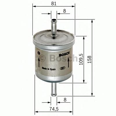 Фильтр топливный 0450905030