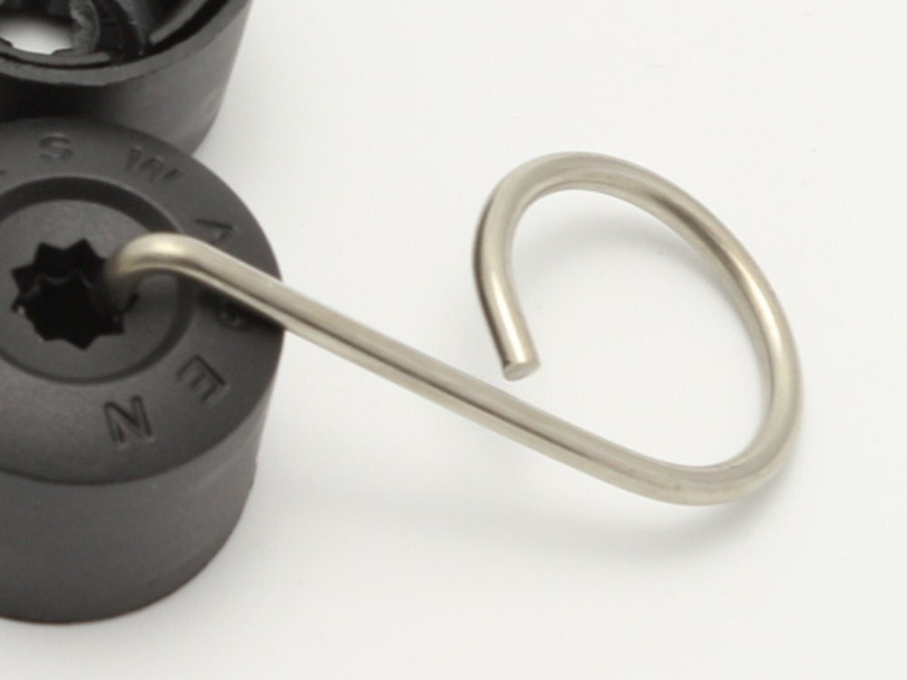Крюк для снятия колесных колпачков