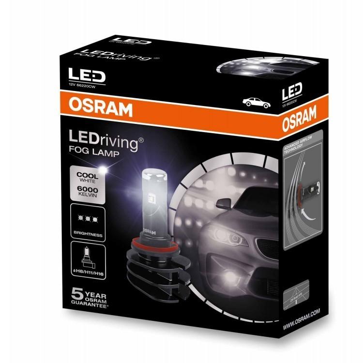 Лампа противотуманная LEDriving Retrofit H8/H11/H16 6000K 13W 2шт 12V 4052899465619