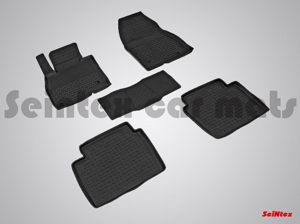 Автомобильный коврик Seintex 01258 для Mazda 2 от 2007 - фото 8