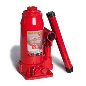 Домкрат гидравлический бутылочный Azard SCHWARTZ-911 в пластиковом кейсе 2 т - фото 8
