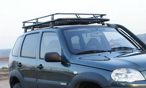 Экспедиционный багажник для шеви нива своими руками