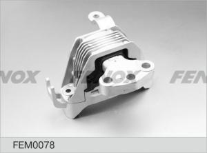 Опора двигателя правая CHEVROLET Cruze, OPEL Astra J 1,6, 09- FEM0078