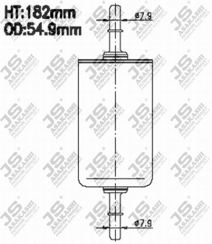Фильтр топливный FS810J
