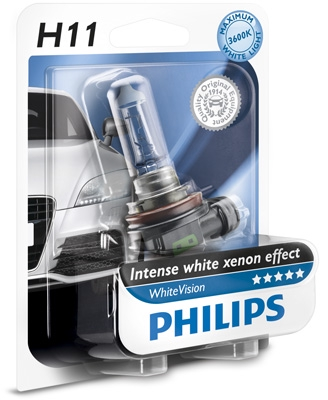 Лампа H11 12V 55W PGJ19-2 3700K Xenon effect