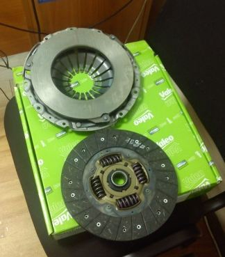 Комплект сцепления CLUTCH KIT 2P CHEVROLET CAPTIVA 2.0 VCDI