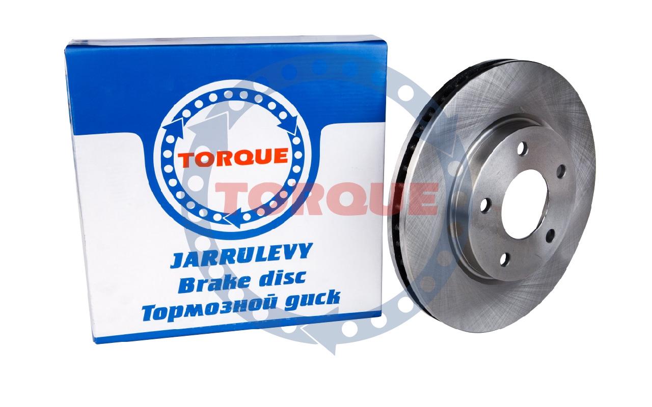 Диск тормозной TORQUE JL111 MITSUBISHI Lancer X 2007-