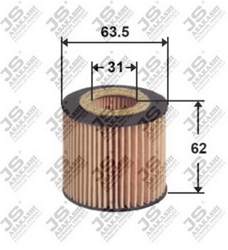 Фильтр масляный (элемент) OE0034