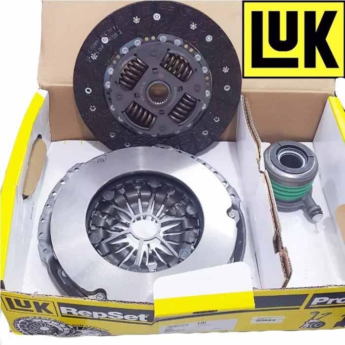 Сцепление LUK 624347433 VW AMAROK 10- (диск+корзина+выжимной)