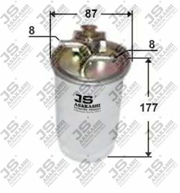 Фильтр топливный VAG A3 -03, A4/6, Pas, FO Galaxy