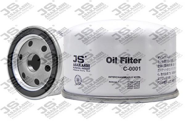 Фильтр масляный C0001