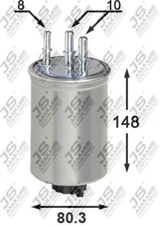 Фильтр топливный FS0044