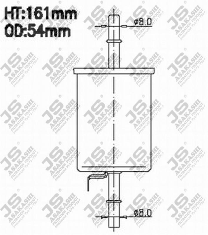 Фильтр топливный FS9644