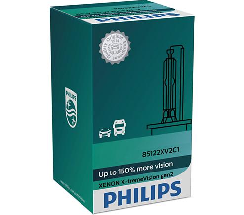 Лампа D3S (35W) PK32d-5 X-Treme Vision 2 +150% 4800K 42403XV2C1 37717033