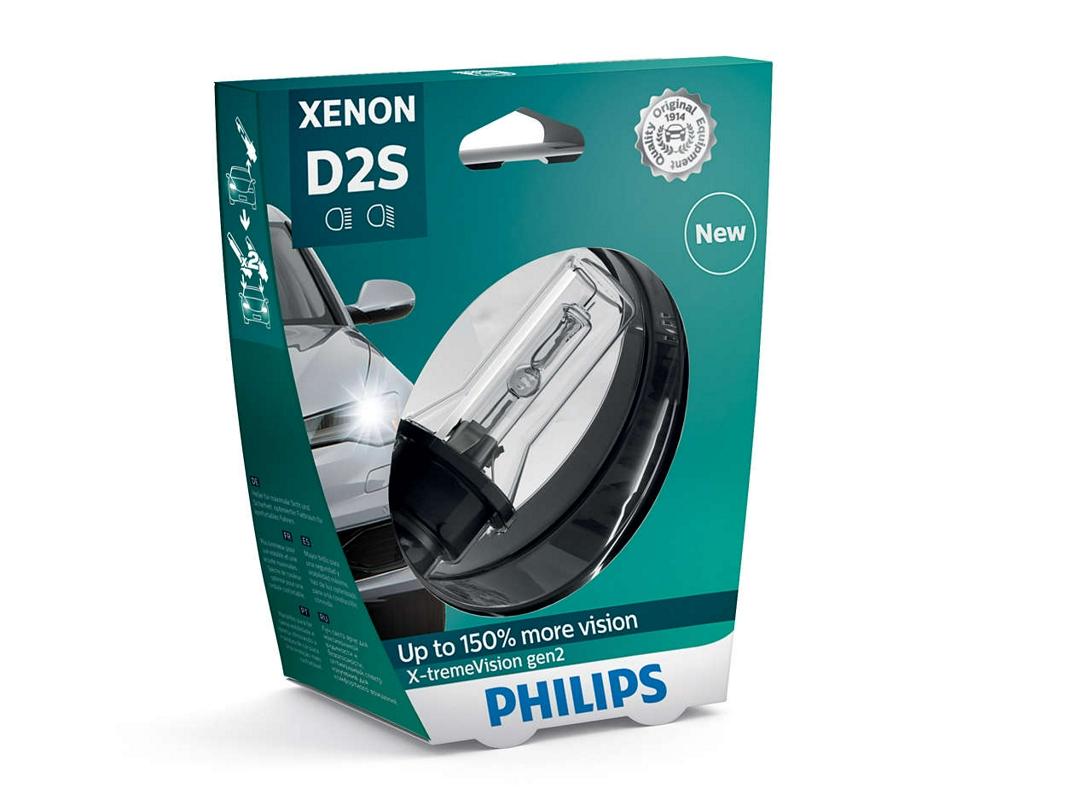 Лампа d2s 85122 xv2 85v 35w p32d-2 s1