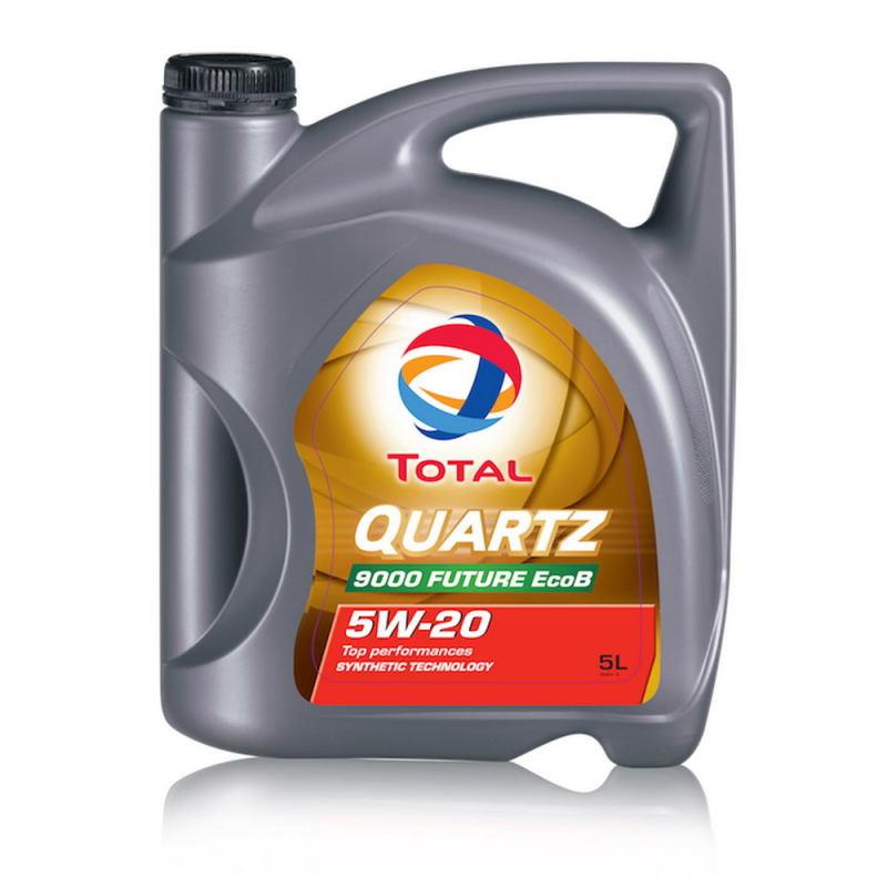 Моторное масло total quartz future 9000 5w/30, 4л, синтетическое
