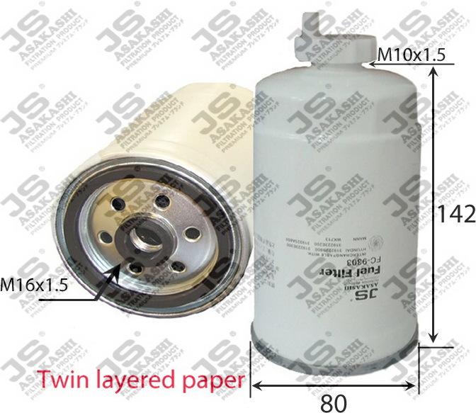 Фильтр топливный FC9303