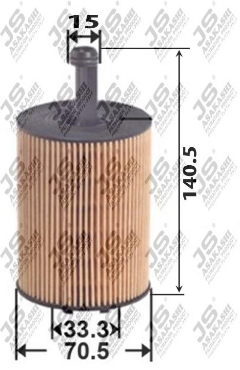 Фильтр масляный (элемент) OE0033