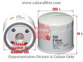 Фильтр масляный C19410