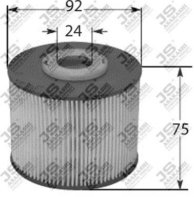 Фильтр топливный PSA C4 Pic, DS4/5, FO Foc III, Ku