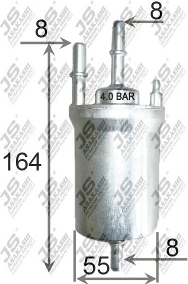 Фильтр топливный VAG A3 -13, Oct 12-, Golf V/VI