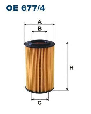 OE6774 Фильтр масляный MB W204/212/SPRINTER (906) OM651 09-/RANGE ROVER 4.4D 10-