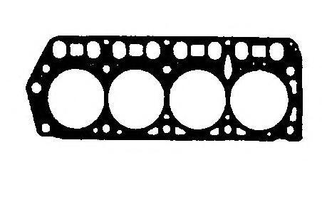 BP650 Прокладка ГБЦ