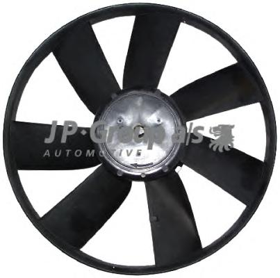 1199100700 Вентилятор радиатора (100/60Watt- 305mm) / VW 1.4-2.0  88~