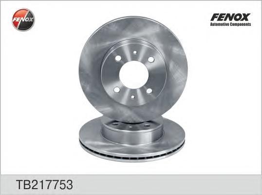 TB217753 Диск тормозной HYUNDAI ACCENT (LC) 00-06 передний вент.