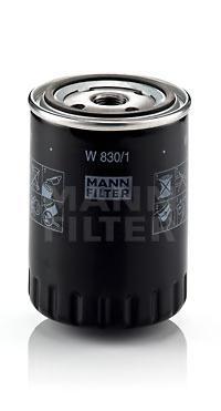 W8301 Фильтр масляный VW G3/G4/TRANSPORTER/SHARAN/PASSAT 1.9D/FORD GALAXY 1.9D