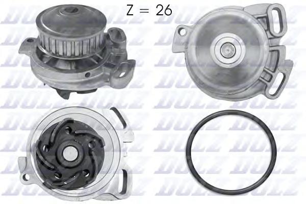 A152 Насос водяной VW Passat 1.9-2.3 77-91