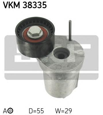 VKM38335 Натяжитель ремня приводного BMW E60/70/83/F10/01 2.0D-3.0D 07-