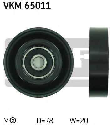 VKM65011 Ролик ремня приводного HYUNDAI GETZ/ACCENT/ELANTRA кондиционера