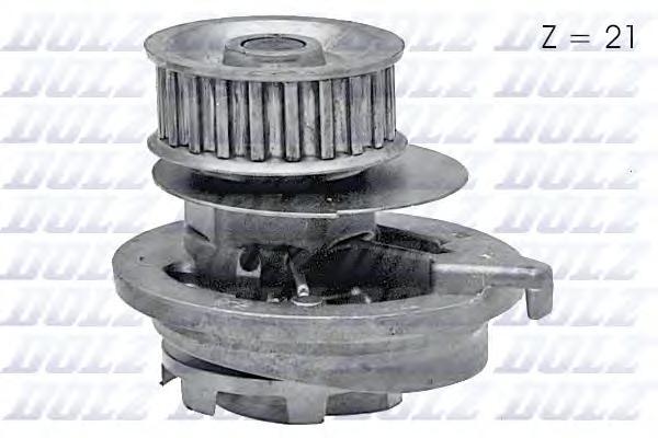 O117 Насос водяной Opel Astra/Kadett/Omega/Vectra 1.8i/2.0i 86-98