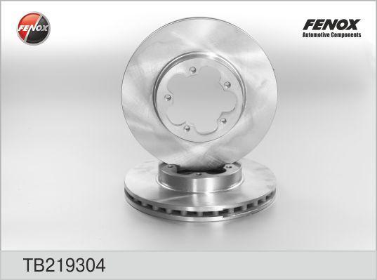 TB219304 Диск тормозной FORD TRANSIT 06- передний вент.D=280мм.