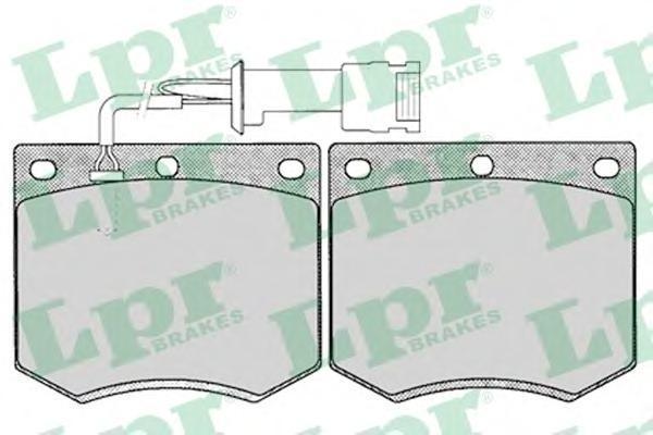 05P125 Колодки тормозные FORD GRANADA 75-85/TAUNUS 70-82 передние