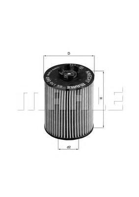 OX173D Фильтр масляный OPEL ASTRA G/H/CORSA C/D 1.0-1.4 -05