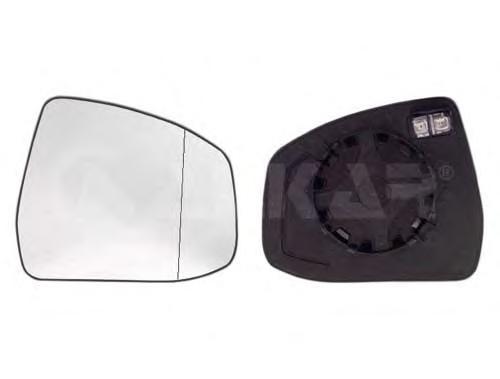 6471376 Стекло зеркала левое (обогреваемое) / FORD Focus-II/III,Mondeo-IV,S-Max,Galaxy 08~