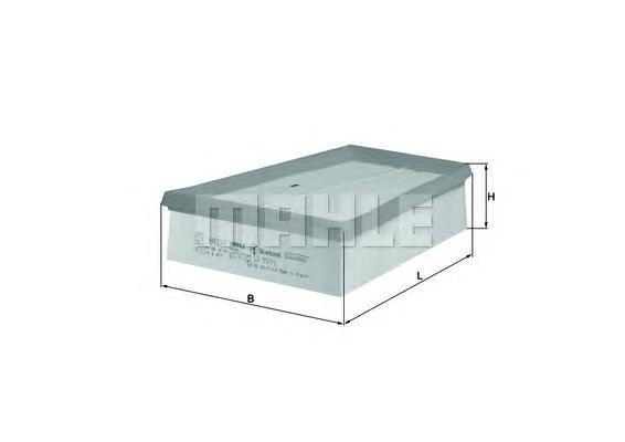 LX9572 Фильтр воздушный RENAULT MEGANE/SCENIC 1.5D-2.0 02-
