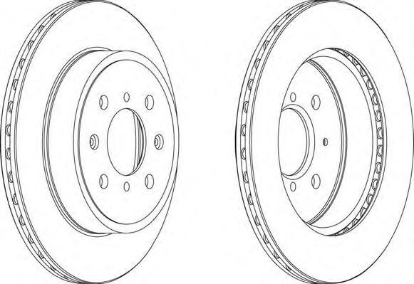 DDF1509 Диск тормозной OPEL AGILA 03-/SUZUKI IGNIS II 03-/WAGON R+ 00- передний вент.