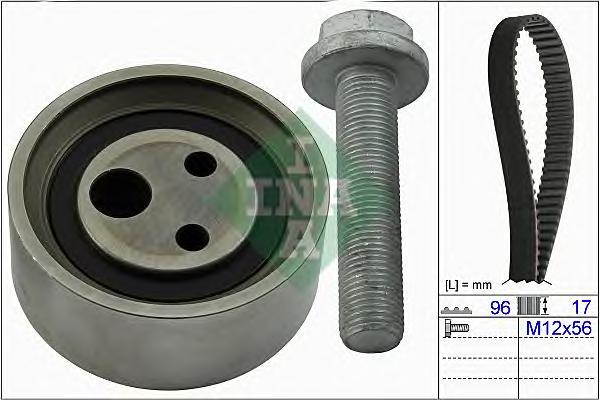 530049010 Комплект ремня ГРМ RENAULT LOGAN/SANDERO (Z=96) 8V 04-
