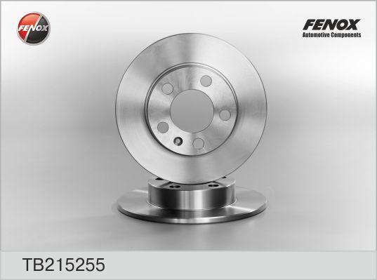 TB215255 Диск тормозной AUDI A3 9703/VOLKSWAGEN G4/G5/POLO 02 R15 задний