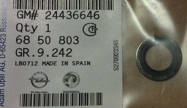 24436646 Уплотнительное кольцо